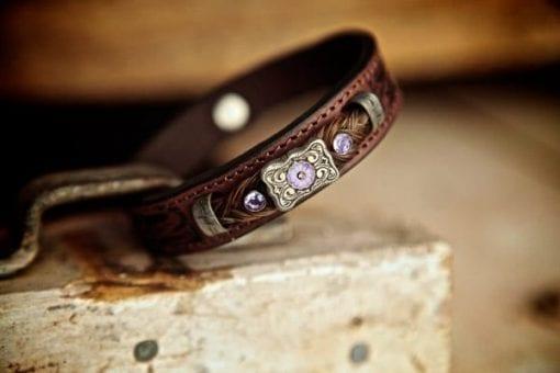 Lilac western bracelet