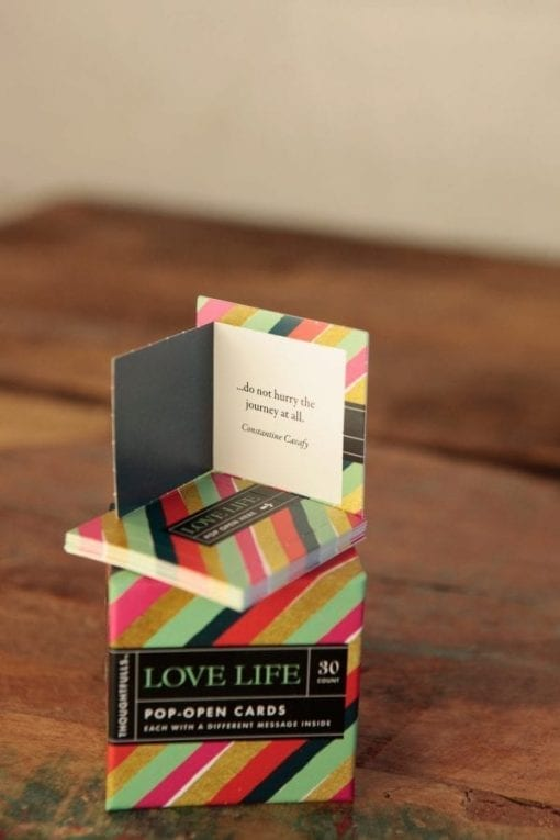 Love Life Card Tower